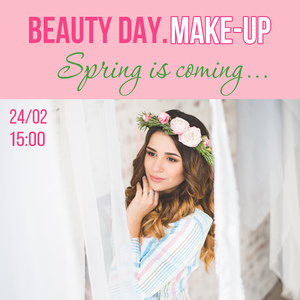 BEAUTY DAY. MAKE-UP SPRING